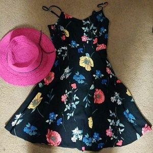 Floral dress.🍁🌻🌺🌼